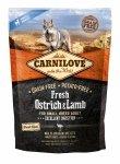 Carnilove Dog Fresh Ostrich & Lamb Small Breed 1,5kg