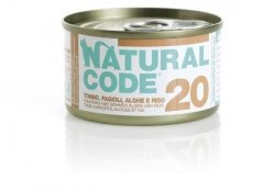 Natural Code Cat 20 Tuna, beans and seaweeds 85g