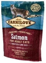 Carnilove Adult Cat Salmon Sensitive & Long Hair 400g