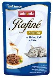 Animonda Rafiné Soupé Senior Kurczak + Cielęcina + ser saszetka 100g