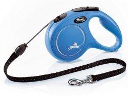 Flexi New Classic Smycz linka M 5m niebieska