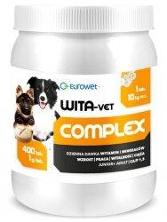Eurowet Wita-Vet Junior+Adult dla psów do 25kg 1g 400 tabletek