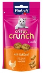 Vitakraft Cat Crispy Crunch drób 60g [2428814]