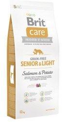 Brit Care Senior & Light Salmon & Potato 12kg