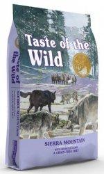 Taste of the Wild Sierra Mountain Canine z mięsem z jagnięciną 2kg