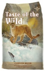 Taste of the Wild Canyon River Feline z pstrągiem i łososiem 7kg