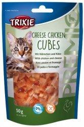 Trixie Premio Chicken Cheese Cubes - kurczak z serem 50g