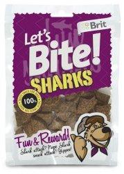 Brit Care Let's Bite Dog Sharks 150g