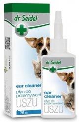 Dr Seidel Płyn do przemywania uszu dla psów i kotów 75ml