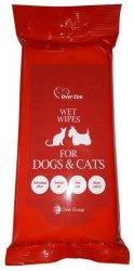 Over Zoo Wet Wipes - chusteczki pielęgnacyjne dla psa i kota
