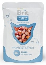 Brit Care Cat Pouch Tuna - Tuńczyk saszetka 80g