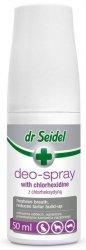 Dr Seidel Deo-Spray z chlorheksydyną - higiena jamy ustnej 50ml