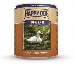 6x Happy Dog Ente Puszka 100% Kaczka 800g