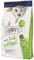 Happy Cat Sensitive Land-Geflügel Kurczak organiczny 300g