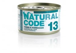Natural Code Cat 13 Tuna and cheese 85g