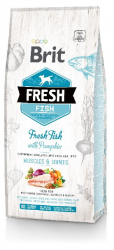Brit Fresh Fish & Pumpkin Adult Large 2,5kg