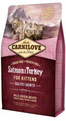Carnilove Kitten Cat Salmon & Turkey 2kg