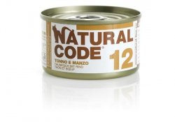 Natural Code Cat 12 Tuna and beef 85g