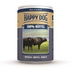 12x Happy Dog Buffel Puszka 100% Bawół 400g