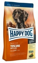 Happy Dog Supreme Toscana Kaczka łosoś 300g