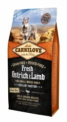 Carnilove Dog Fresh Ostrich & Lamb Small Breed 6kg