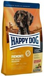 Happy Dog Supreme Piemonte Kaczka, Ryby i Kasztany 1kg