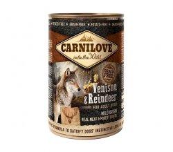 Carnilove Venison & Reindeer Adult 400g
