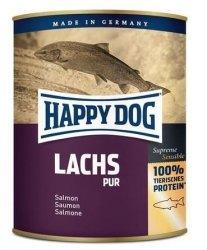 6x Happy Dog Lachs Puszka 100% Łosoś 800g