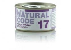 Natural Code Cat 17 Chicken and ostrich 85g