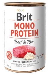 Brit Mono Protein Beef & Rice 400g - wołowina