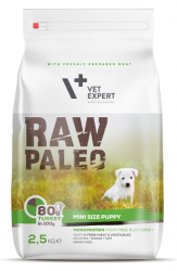 Raw Paleo Mini Size Puppy Turkey 2,5kg
