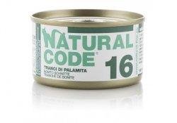 Natural Code Cat 16 Bonito slices 85g