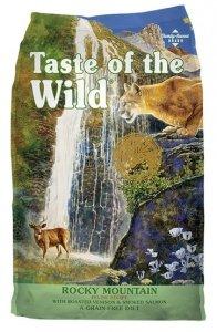 Taste of the Wild Rocky Mountain Feline z dziczyzną i łososiem 6,6kg