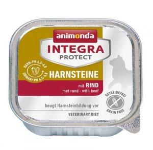 Animonda Integra Protect Harnsteine dla kota - z wołowiną tacka 100g