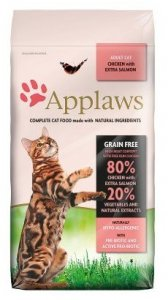 Applaws Cat Adult Chicken and Salmon 400g