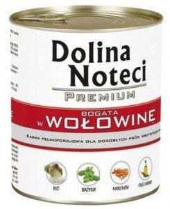 Dolina Noteci Premium Pies Wołowina puszka 800g