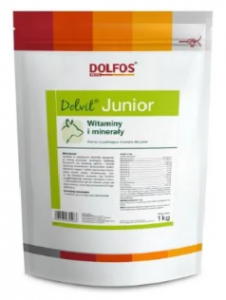 Dolfos Dolvit Junior 1kg proszek
