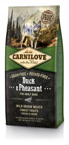 Carnilove Duck and Pheasant Adult 12kg