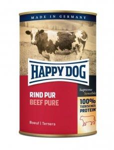 Happy Dog Rind Puszka 100% Wołowina 400g