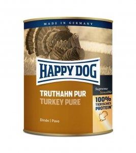 Happy Dog Truthahn Puszka 100% Indyk 800g
