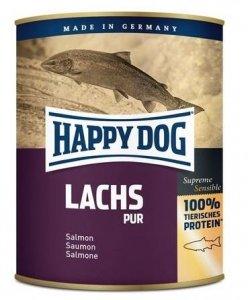 6x Happy Dog Lachs Puszka 100% Łosoś 750g