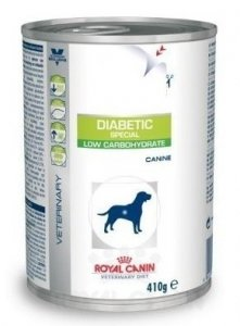 ROYAL CANIN Diabetic Special Low Carbohydrate 410g (puszka)