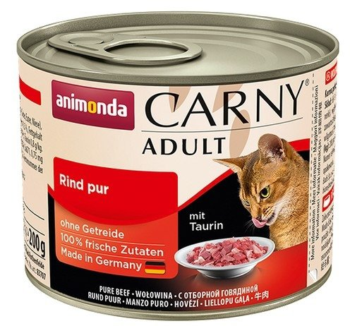 Animonda Carny Adult Wołowina puszka 200g