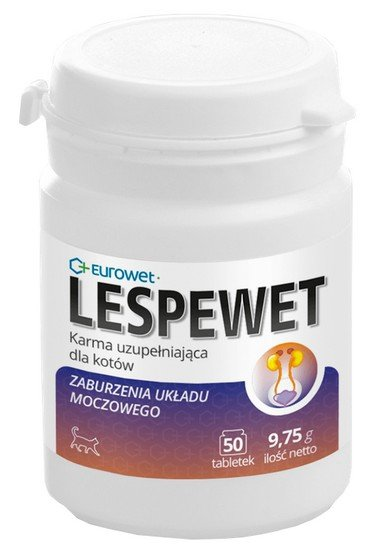 Eurowet Lespewet dla kota 50 tabletek