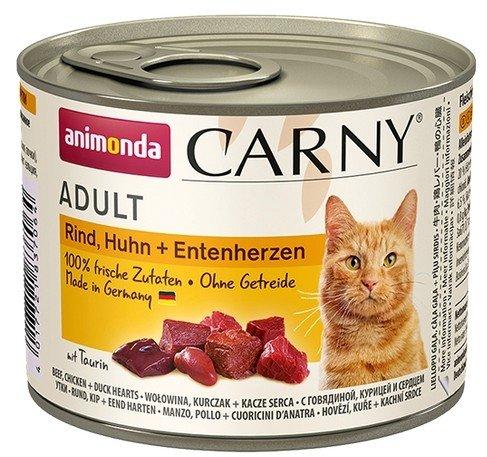 Animonda Carny Adult Kurczak + Kaczka puszka 200g