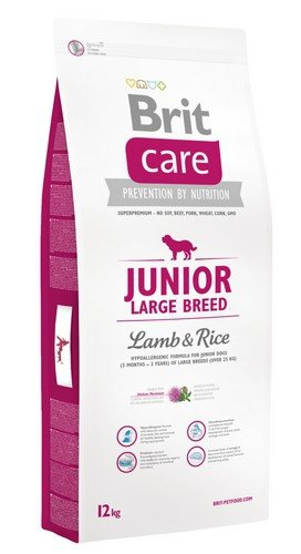 Brit Care Junior Large Breed Lamb and Rice 12kg
