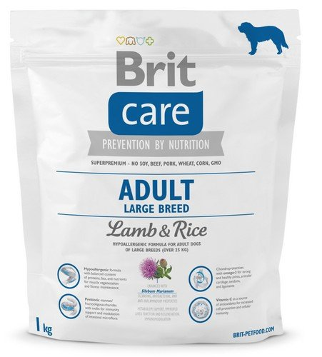 Brit Care Adult Large Breed Lamb and Rice 1kg