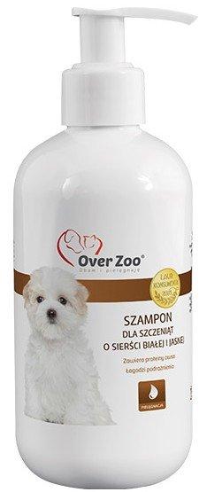 Over Zoo Szampon dla szczeniąt o białej i jasnej sierści 250ml