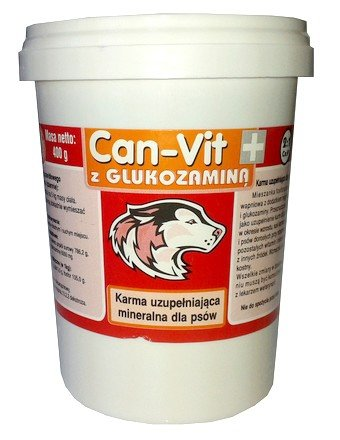 Calcium (Can-Vit) czerwony - proszek 400g