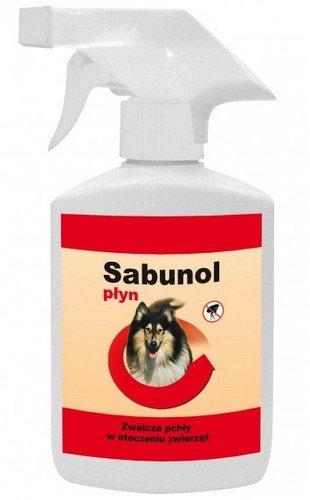 DermaPharm Sabunol Płyn do zwalczania pcheł w otoczeniu zwierząt 250ml